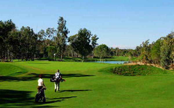 Neomezený golf v tureckém Beleku se slevou 35% - 8 dní v 5* hotelu Sueno s all-inclusive, neomezené fee Pines&Dunes Courses v termínu 24.11. - 1.12. 2012