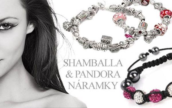 Sleva 40% na nákup Pandora stylu a Shamballa stylu. Získejte poukaz v hodnotě 25Kč na slevu na 1 nákup Pandora stylu a Shamballa v e-shopu.