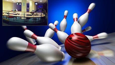 1 hodina bowlingu! Zahrajte si bowling a odreagujte se během 60 minut až v 8 lidech!