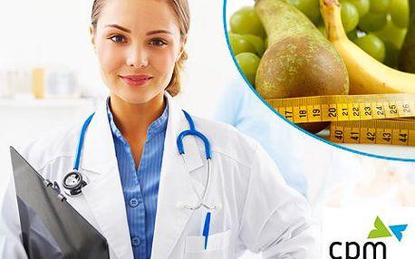 K dokonalé postavě díky vyšetření specialistou – nalezněte odpovědi na otázky ohledně výživy a životního stylu! Vzorový jídelníček a 2x kryolipolýza!