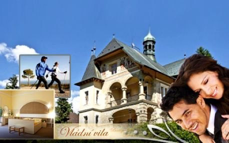 Romantický kúpeľný pobyt v atraktívnom hoteli Vládní Vila Luhačovice! Pobyt na 3 dni PRO DVA s raňajkami a Vincentkou za skvelých 79 Eur! Relax so zľavou 57%!