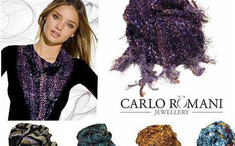 Originální pletené vlněné šály nejen zahřejí, ale především skvěle vypadají! Na výběr z řady barevných variací! Výborný tip na dárek!