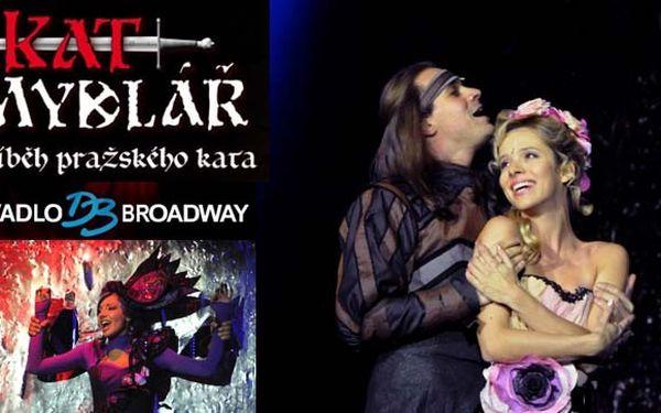Největší hudební HVĚZDY, dokonalá show a STRHUJÍCÍ PŘÍBĚH = muzikálový hit KAT MYDLÁŘ dne 11. 3. 2012 za super cenu 349 Kč! Jedinečné představení Divadla Broadway. K DISPOZICI 112 vstupenek!