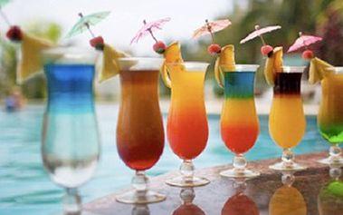 KOKTEJLY dle Vaší chuti ... MOJITO, Cubata, Finlandia Mango Breeze Všechny míchané nápoje z naší nabídky s 50% slevou. To bude jízda, stačí si jen vybrat.