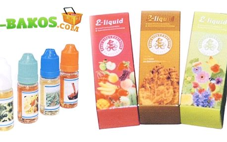 3 x 20ml originální e-liquid náplň s libovolnými příchutěmi pro vaší e-cigaretu a kouření bez zápachu s poštovným zdarma!