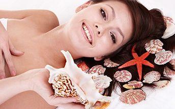 Luxusní rituál Tokoriki- 120 min EXOTICKÁ masáž mušlemi Oslavte s námi 5 let na trhu rituálem, který zahrnuje kokosový zábal, peeling, tlakovou masáž, celotělovou masáž i hlavy.