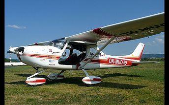 Staňte se pilotem alespoň na chvíli. Zažíjte ten skvělý pocit a vyzkoušejte si pilotování letadla Cessna Skylane nebo Eurostar za super cenu 599,- Kč. 15 minutová instruktáž a pak 15 minutový let nad krásami naší vlasti.