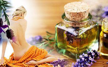 Luxusní levandulová 40 minutová relaxační masáž s 20 minutovým levandulovo-bahením zábalem!! Dopřejte své mysli i tělu odpočinek, který každý z nás potřebuje!