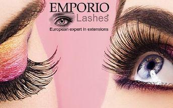 ULTRALEHKÉ UMĚLÉ ŘASY Emporio Lashes s 60% slevou za 399 Kč v luxusním studiu IN!! Získejte svůdný pohled, který řasenkou nikdy nedocílíte.