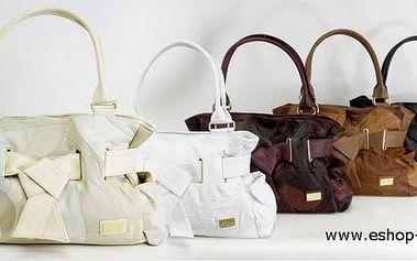 Kožená kabelka s 50% slevou za neuvěřitelných 450,- Kč. Doplněk ke každému stylu, který Vám nesmí chybět!