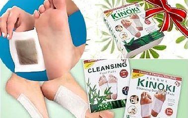 Detoxikační náplast KINOKI - Čistí tělo od toxinů zatímco spíte! + Pošta ZDARMA