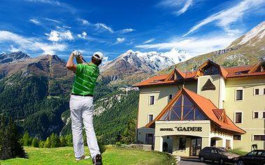 Objavte krásy Veľkej Fatry počas 3-dňového pobytu pre 2 osoby v hoteli Gader! Zahoďte starosti a nechajte sa uniesť oázou relaxu so zľavou až do 65%! V cene bohaté raňajky, sauna, golf, tenis a bicykle! Platí aj počas Veľkej noci!