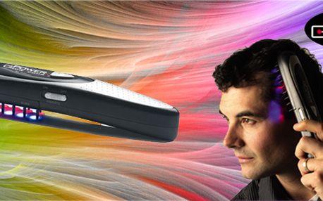 Laserový přístroj na podporu růstu vlasů! Urychlovač růstu vlasů je jako vlasová klinika do dlaně. Je to zmenšená, ale stejně účinná verze laserových přístrojů v salonech!