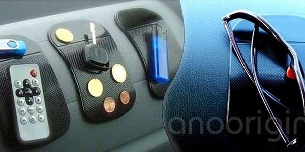 139 Kč za 4 protiskluzové nanopodložky včetně poštovného. Při osobním odběru pátá zdarma. Skvělá vychytávka do auta, drží mobil i klíče!