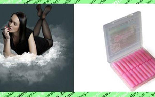 20 ks náplní do elektronické cigarety E-SLIM za neuvěřitelnou cenu, ušetřete s báječnou slevou 119 Kč vč.POSTY!Barva černá nebo růžová.