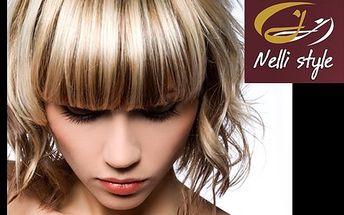 Kadeřnický balíček:melír a střih! Dodejte vašim vlasům potřebnou regeneraci a vzhledu oživení!