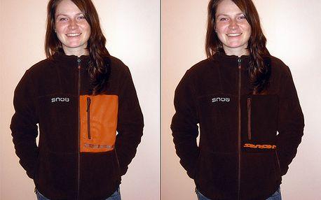 Fleecová bunda SENSOR z excelentního materiálu do těch nejtužších mrazů včetně ROČNÍHO předplatného lyžařského časopisu SNOW za vyteplených 649 Kč!