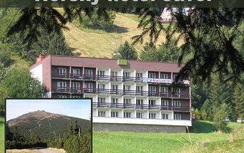 4 dny v horách s plnou penzí! Vydejte se na 4 dny do Krkonoš, vezměte i děti a užijte si spoustu zábavy!
