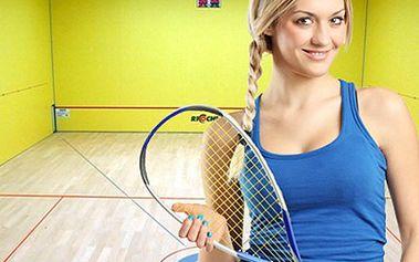 60 minutový PRONÁJEM KURTU na Ricochet Hra pro dva hráče podobná squashi, hraje se na uzavřeném hřišti s pálkami a míčkem na Ricochet. Zkuste sport, který Vás chytí, při této hře se nudit nebudete.