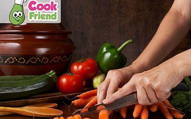 3,5h kurzy vaření bez masa! Naučte se vařit indickou, marockou, řeckou, českou nebo venkovskou kuchyni!