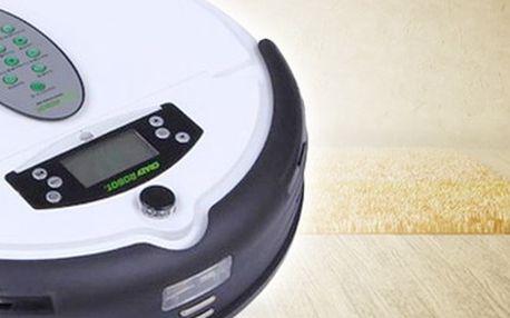 ROBOTICKÝ vysavač Crazyrobot, skvělý pomocník do domácnosti Crazyrobot model 699 v černé, bílé, červené, zlaté barvě se zárukou 2 roky, výkonem 25W pro kvalitní vysávání nečistot ze všech povrchů.
