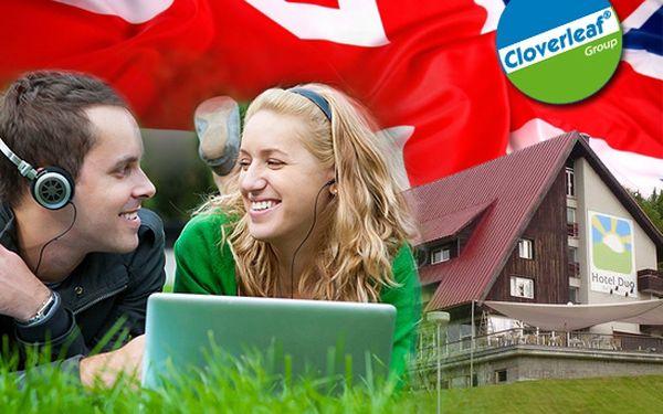Třídenní výukový kurz angličtiny v Hotelu Duo v Horní Bečvě s plnou penzí za 3990 Kč! Naučte se prezentovat projekt a základy obchodní korespondence v anglickém jazyce s výmluvnou 52% slevou!