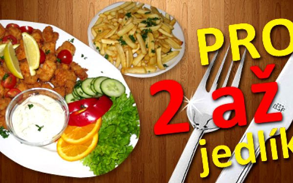 Dejme si to, co máme všichni rádi! Půl KILA výtečných kuřecích mini řízečků a 400 gramů zlatavých hranolek jaké jste ještě nejedli pro 2 až 4 jedlíky! K tomu dva druhy omáček, zeleninová obloha a možnost posezení na příjemné letní zahrádce. To vše za neskutečnou cenu 199,- Kč (v hodnotě 450,- Kč)! Vyhlášená restaurace Baba Jaga vás zve na specialitu šéfa kuchyně na kterou opravdu nezapomenete.