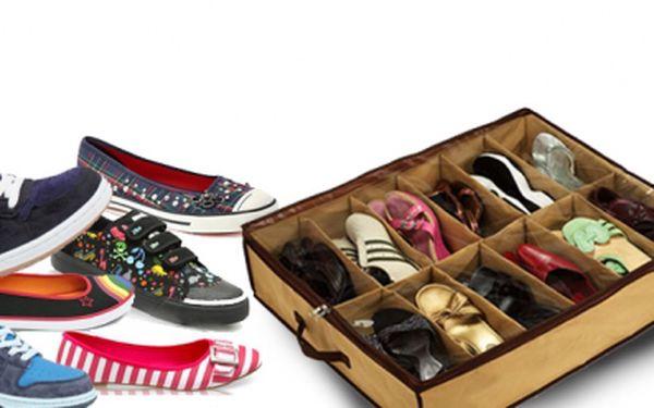 Vak na uskladnění obuvi Vám ušetří místo a Vy budete mít své boty přehledně uspořádané a chráněné proti nečistotám! Nyní za pouhých 129 Kč, sleva 57%!