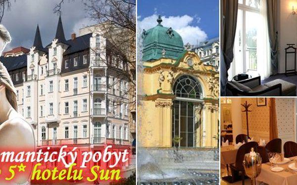 Přepychové ubytování v luxusu není určeno jen pro bohatou zahraniční klientelu! Nabízíme Vám jedinečnu příležitost využít pobyt na začátku hlavní sezóny v překrásném luxusním Hotel Sun***** v samém srdci Mariánských Lázní.