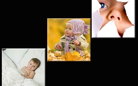 Třidílný obraz, nebo 3 obrázky z vaších vlastních fotografii