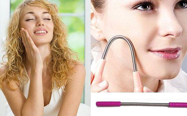 BRNO - 149 Kč za depilační pružinu, revoluční metodu odstraňování chloupků. Zbaví Vás chloupků v obličeji - natrvalo!