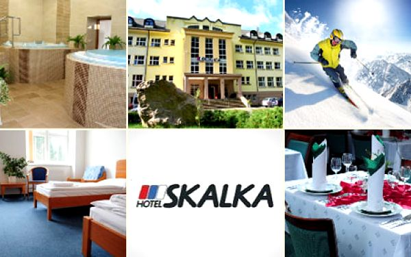 Jen 1725 Kč za 3 denní pobyt pro 2 osoby s polopenzí v Hotelu Skalka v nádherné přírodě Rajecké doliny, kde je výborná lyžovačka! Sleva 55%