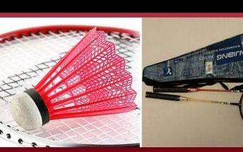 169 Kč za badmintonovou soupravu DE LUXE pro rekreační hráče, vyrobenou z kvalitního odlehčeného materiálu, s námi nyní se 43% slevou.