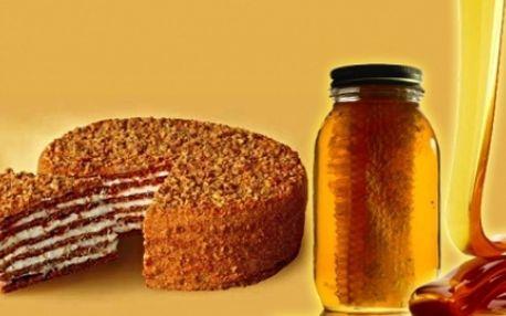 Medový dort potěší Vaše chuťové buňky a to s 38% slevou! Vychutnejte si tuto staročeskou dobrotu za lahodnou cenu 179 Kč!