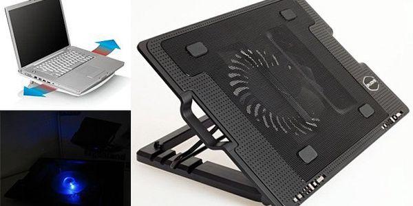BRNO - 329 Kč za chladící podložku pod notebook. Chladící podložka značky ErgoStand zvýší životnost baterie i výkon notebooku!