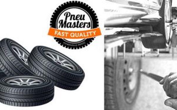 Přezutí sady pneumatik v pneuservisu PneuMasters v Ostravě za skvělých 420 Kč - Využijte vysokou slevu na přezutí pneumatik!