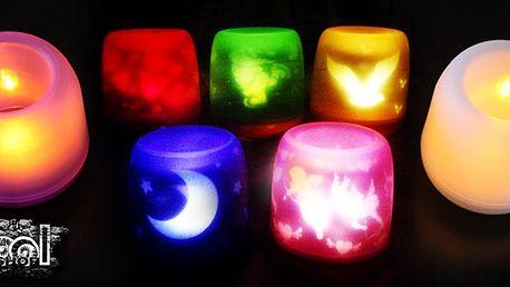 Super svíčka s led svíčkou, která má senzor na foukání větru. Pokud hodně fouká plamínek plápolá pokud chcete zhasnout stačí LED svíčku sfounknout. Vhodné pro děti do pokojíčku!!