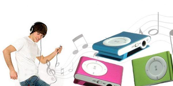 MP3 přehrávač za fantastickou cenu 149 Kč! Poslouchejte svoji oblíbenou muziku KDEKOLIV s tímto úžasným mini mp3 přehrávačem ve stylových barvách! Sleva 63%!