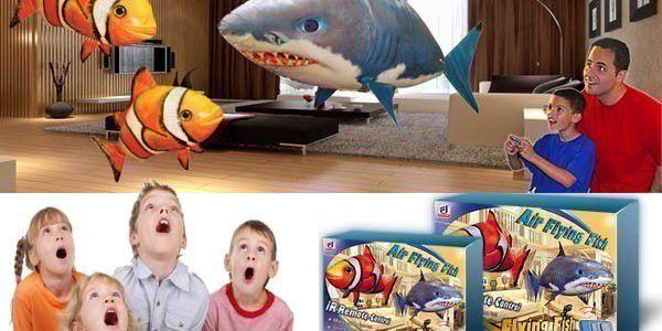 Cenová senzace! 2x LÉTAJÍCÍ RYBA (ŽRALOK & NEMO) + 1x HÉLIOVÁ BOMBA za cenu 1499 Kč! Parádní dárek nejen pro děti, který jistě potěší celou Vaši rodinu! Kupte si i Vy hračku roku 2011 :-)