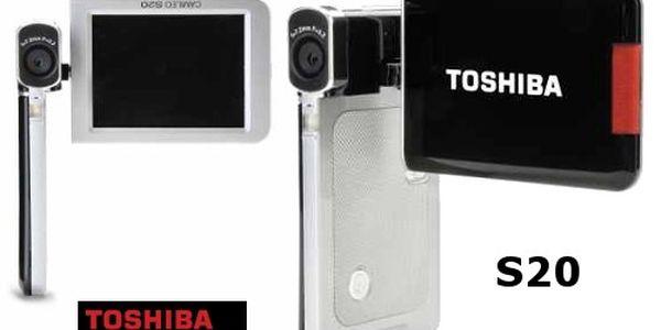 Jen 1899 kč za digitální kameru toshiba camileo s20 včetně poštovného v černé barvě! Dokonalý obraz, zvuk a nekonečné možnosti pro fotky i videa - vše ve vaší režii!