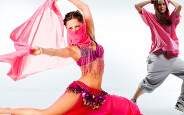 3 hodiny STREET DANCE nebo ORIENTÁLNÍHO TANCE Žijete hudbou a rytmem, zatancujte si. Bavte se při orientálních tancích nebo zkuste Hip Hop, Funky, Poppin´ a House.