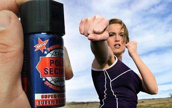 Slzný sprej, kasr, slzák - Ochranná pomůcka pro ženy i muže, neměl by chybět v žádné dámské kabelce!
