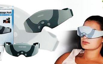 Dopřejte vašim očím relaxační masáž pomocí této masážní masky König. Pravidelným používáním masky 3 – 10 minut denně zlepšíte krevní oběh a uvolníte oční svaly.