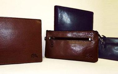 Dárkové balení kožené peněženky a klíčenky s 50% slevou za pouhých 495,- Kč!! Skvělé jako dárek !