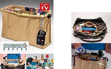 Praktický organizér do kabelky za pouhých 129,- Kč!!! Ušetří Vám spoustu času a také zajistí perfektní přehled nad Vašimi věcmi v kabelce!