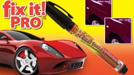 Škrábance na laku auta, už nemusíte řešit drahým přelakováním. Postačí Vám pouze profesionální opravný pero FIX IT PRO