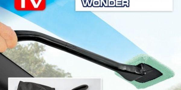 Stěrka na skla nejen vozu, která umí čistit nejen přední sklo. Je to opravdu snadné! Cena je vč. Poštovného