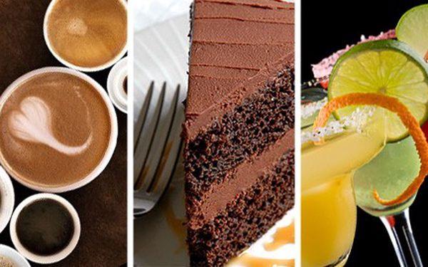 155 Kč za 2 kávy, 2 nebeské dezerty a 2 míchané nápoje nebo lahev jahodového Fragolina v harmonické kavárně Melodie. Stylový večer pro dva v kavárně, která ladí!