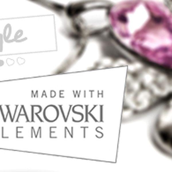 Šperky s komponenty Swarovski® – výběr z několika tvarů, dárková krabička, jednotné poštovné