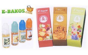 Náplně do e - cigarety 5 x 10 ml. jen za . . . 380,- Kč